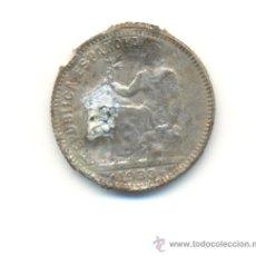 Monedas República: MUY CURIOSA Y RARA PESETA DE 1933 DE LA II REPUBLICA FORRADA FALSA DE ÉPOCA. Lote 28075330