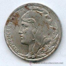 Monedas República: * ERROR* CABEZA PEQUEÑA 5 CENTIMOS DE LA REPUBLICA ESPAÑOLA AÑO 1937. Lote 28254230