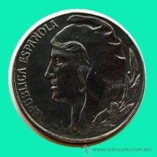Monedas República: II REPÚBLICA . 5 CENTIMOS 1937 . EBC+. Lote 28994705