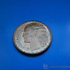 Monedas República: MONEDA DE 1 PESETA DE LA REPUBLICA ESPAÑOLA DEL AÑO 1937 . Lote 30405122