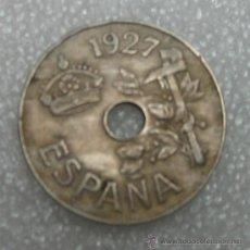 Monedas República: 25 CENTIMOS DE AGUJERO. Lote 30731163