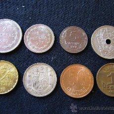 Monedas República: LOTE DE 8 MONEDAS DE LA REPÚBLICA ESPAÑOLA. Lote 32380053