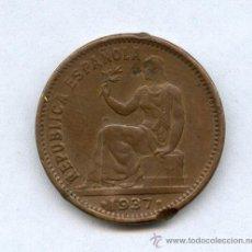 Monete Repubblica: MONEDA DE 50 CENTIMOS DE 1937. NUMERO 1. Lote 32541668