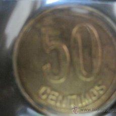 Monedas República: 50 CTMS. CENTIMOS 1937 COBRE. Lote 35324477