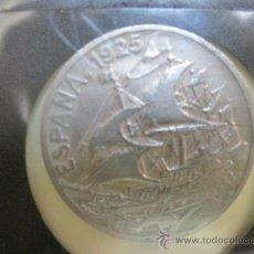 Monedas República: LOTE DE 2 MONEDAS DE 25 CÉNTIMOS (CTS.) DE NÍQUEL 1925 Y 1937. Lote 35325963