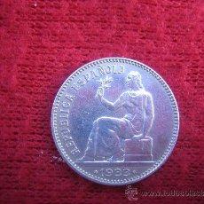 Monedas República: MONEDA 1 PESETA 1933. BIEN CONSERVADA.. Lote 35581794