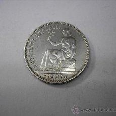 Monedas República: 1 PESETA DE PLATA DE1933 3-4. 2ª REPUBLICA ESPAÑOLA. Lote 36700455