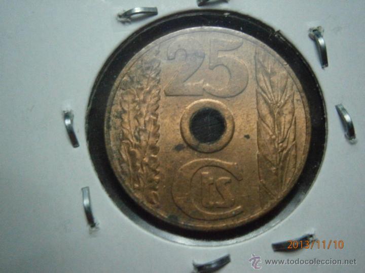 Monedas República: 25CTS DE LA REPUBLICA ESPAÑOLA 1937 - Foto 2 - 39905883