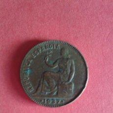 Monedas República: II REPÚBLICA. 50 CENTIMOS DE 1937. COBRE. . Lote 45781892