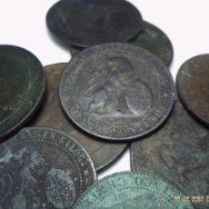 Monedas República: OPORTUNIDAD. LOTE DE DIEZ MONEDAS BRONCE DE LA REPÚBLICA ESPAÑOLA.. Lote 46532994
