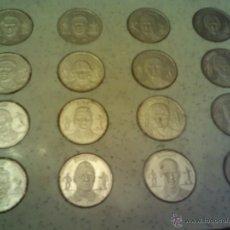 Monedas República: COLECCIÓN DE MONEDAS DEL BARCELONA AÑOS 1989-1999. Lote 48039185