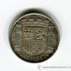 Monedas República: 1 (UNA) PESETA DE PLATA REPUBLICA ESPAÑOLA 1933 *3 *4. Lote 51191606