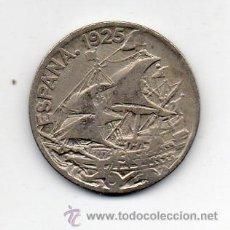 Monedas República: REPÚBLICA. 25 CÉNTIMOS. AÑO 1925. CARABELA.. Lote 51598981