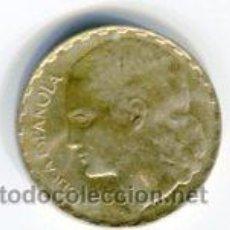 Monedas República: UNA (1) PESETA REPUBLICA ESPAÑOLA AÑO 1937. Lote 52351968