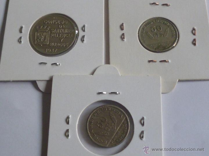 Monedas República: consejo santander palencia y burgos, 3 monedas - Foto 2 - 54097817