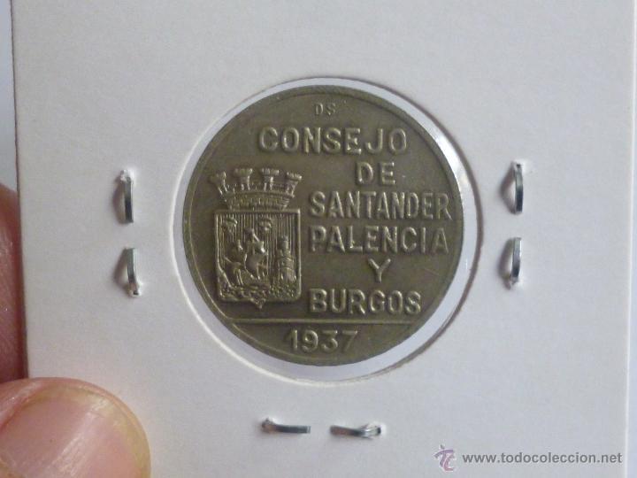 Monedas República: consejo santander palencia y burgos, 3 monedas - Foto 4 - 54097817