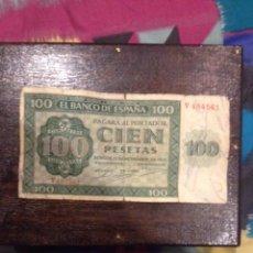 Monedas República: BILLETE 100 PESETAS ESPAÑA BURGOS 1936. Lote 54105406
