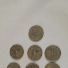 Monedas República: LOTE DE 10 MONEDAS DE 25 CÉNTIMOS DE PESETA 1937 VIENA. ESTADO EBC. Lote 54235940