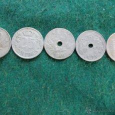 Monedas República: LOTE MONEDAS 25 CENTIMOS TODAS DIFERENTES. Lote 54460195