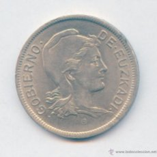 Monedas República: 2 PESETAS AÑO 1937 EUZKADI. PRECIOSA. AHORRA EN GASTOS AGRUPANDO TUS COMPRAS. Lote 54636082
