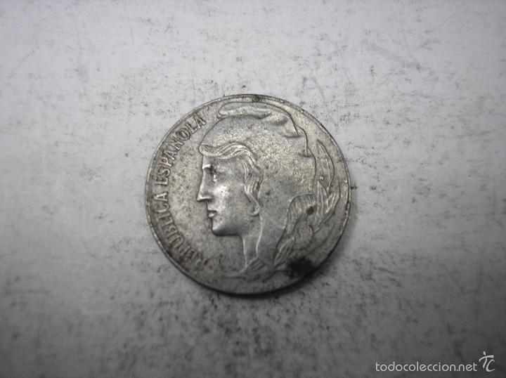 Monedas República: 2ª REPUBLICA ESPAÑOLA, 5 CENTIMOS DE HIERRO DE 1937 - Foto 2 - 56152441