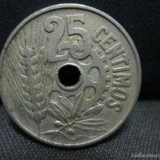 Monedas República: 25 CENTIMOS 1934 REPUBLICA ESPAÑOLA. Lote 56549580