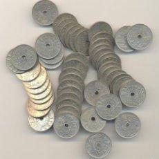 Monete Repubblica: 3ºCAJ.--- LOTE DE 50 MONEDAS DE 25 CÉNTIMOS DE 1937 ACUÑADAS EN VIENA. Lote 56572966