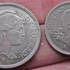 Monedas República: GUERRA CIVIL. PESETAS DE EUZKADI. PAÍS VASCO 1937.. Lote 56717512