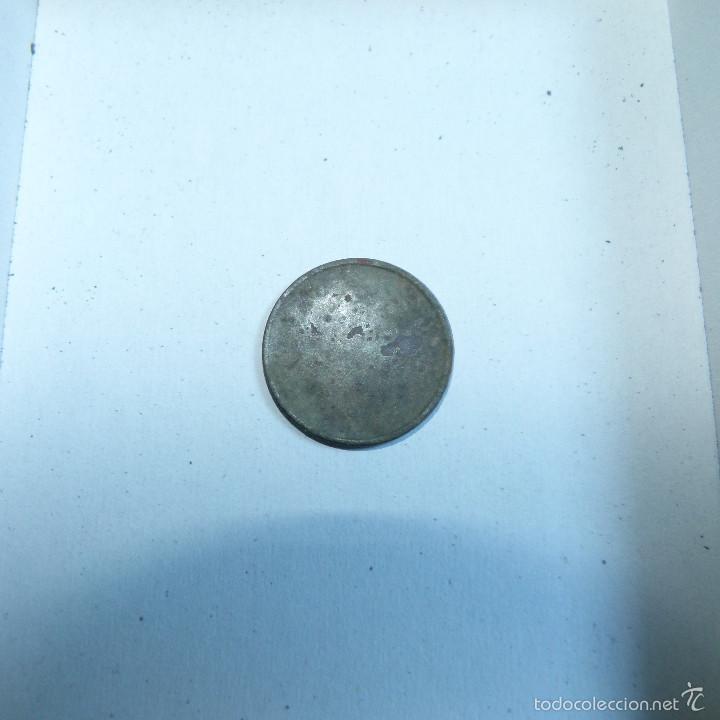 Monedas República: COSPEL DE MONEDA DE 25 CENTIMOS DE ACUÑACION LOCAL GUERRA CIVIL - Foto 2 - 57548798