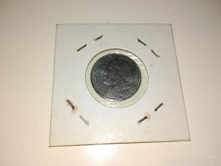 Monedas República: MONEDA DE 5 CÉNTIMOS. AÑO 1937. PERIODO DE LA GUERRA CIVIL. buena conservacion - Foto 2 - 60858427