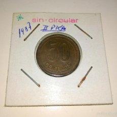 Monedas República: MONEDA 50 CENTIMOS 1937. Lote 60859387