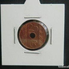 Monedas República: 25 CENTIMOS 1938 SIN CIRCULAR CON BRILLO ORIGINAL. Lote 63896039