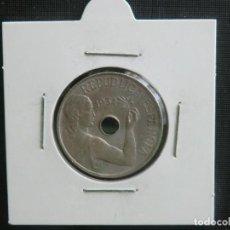 Monedas República: 25 CENTIMOS 1934 SIN CIRCULAR. Lote 63896203