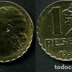 Monedas República: ESPAÑA 1 PESETA DE 1937 ( BUSTO DE MUJER - MONEDA DE LA 2ª REPUBLICA ESPAÑOLA ) Nº14. Lote 67851297