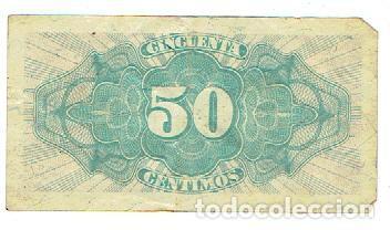 Monedas República: 50 centimos 1937 - Foto 2 - 71615759