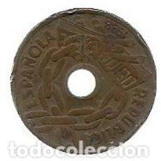 Monedas República: 25 CENTIMOS II REPUBLICA ESPAÑOLA 1938 MBC . Lote 73499315