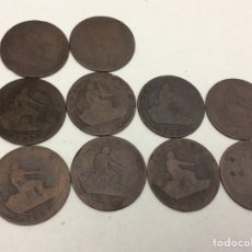 Monedas República: 10 MONEDAS 1878 5 CÉNTIMOS. Lote 74270290