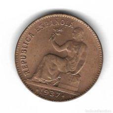 Monedas República: MONEDA. 50 CENTIMOS. 1937. ESTRELLA 36. CIRCULO EN CUADROS. Lote 76067607