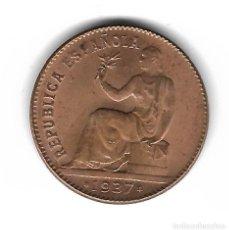 Monedas República: MONEDA. 50 CENTIMOS. 1937. ESTRELLA 36. CIRCULO EN CUADROS. Lote 76067707