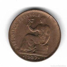 Monedas República: MONEDA. 50 CENTIMOS. 1937. ESTRELLA 36.. Lote 76067763