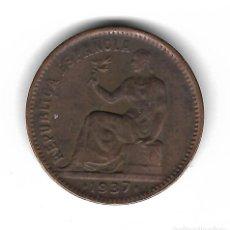 Monedas República: MONEDA. 50 CENTIMOS. 1937. ESTRELLA 34. REPUBLICA ESPAÑOLA. Lote 77379925