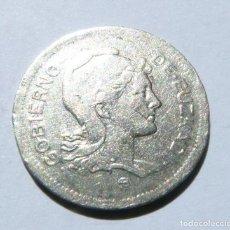 Monedas República: MONEDA DE 1 PESETA DE EUSKADI AÑO 1937 2ª REPÚBLICA. Lote 82294352