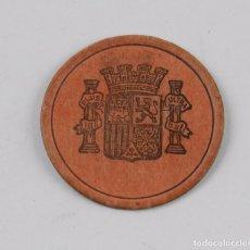 Monedas República: CARTÓN MONEDA DE 10 CENTÍMOS. ÉPOCA DE LA II REPÚBLICA ESPAÑOLA. MIDE 3,5 CMS DE DIAMETRO.. Lote 86896208