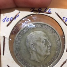 Monedas República: MONEDA 100 PESETAS 1966. Lote 87241888