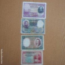 Monedas República: BILLETE - 4 BILLETES DIFERENTES - VER FOTOS AÑOS - 28 - 31 - 31 - 35 - . Lote 89002276