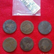 Monedas República: BUEN LOTE DE MONEDAS DE 10 CENTIMOS DE COBRE DE VARIOS AÑOS. Lote 92249760