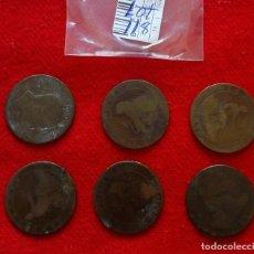 Monedas República: BUEN LOTE DE MONEDAS DE 10 CENTIMOS DE COBRE DE VARIOS AÑOS. Lote 92249795