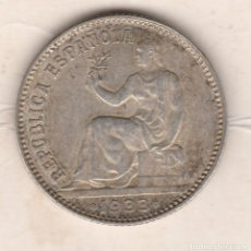 Monedas República: 1 PESETA- 1933*3-4. Lote 95425631