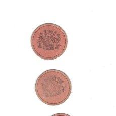 Monedas República: SELLOS MONEDA - 3 VALORES - VER FOTOS DEL ESTADO Y DE LOS VALORES. Lote 95447443