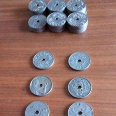Monedas República: 34 MONEDAS 25 CÉNTIMOS Y UNA DE AMADEO I NEGOCIABLE. Lote 95542563